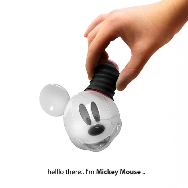 "Mickey Mouse ""Birne"""