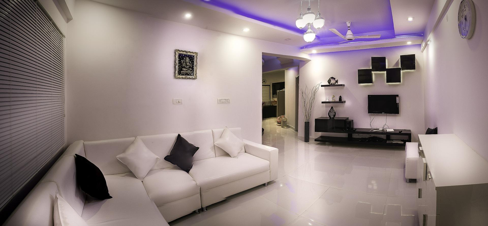 Das Zuhause Ins Richtige Licht Rücken Wie Kleine Räume Größer Wirken