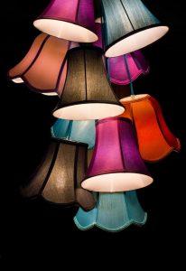 Mehrere gebündelte Lampen ergeben einen echten Hingucker.