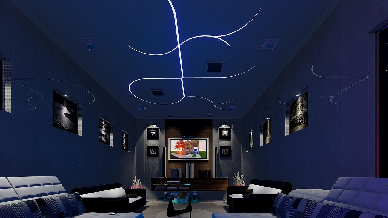 Lichtdesign mit Led Panels
