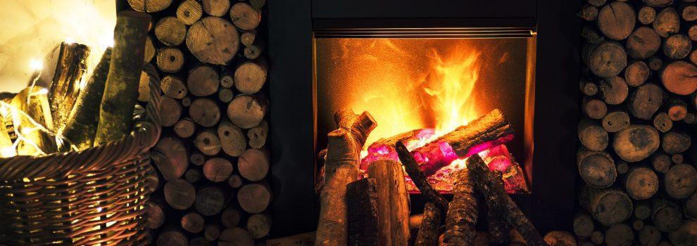 Schöne Stimmung in der Kalten Jahreszeit