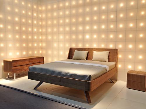 lampen wandleuchten licht einrichtungsidee schlafzimmer auf. Black Bedroom Furniture Sets. Home Design Ideas